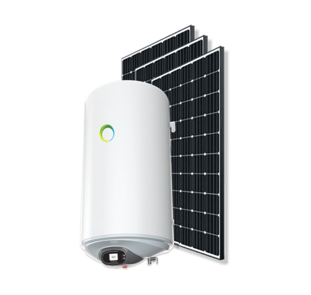 photovoltaic water heater with solar panel 80 liter